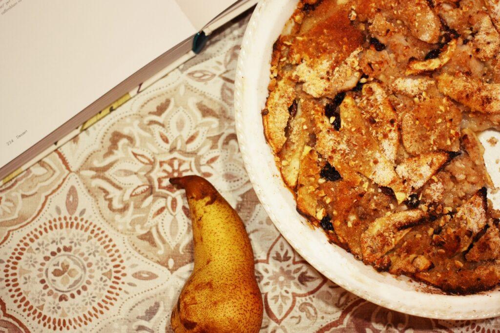torta mele e pere senza uova e farina