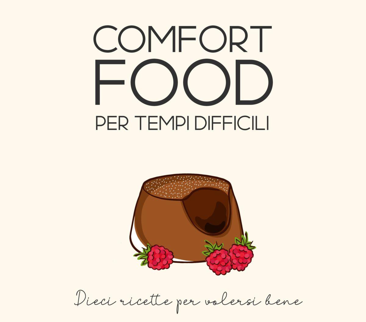 copertina ricettario digitale sui comfort food