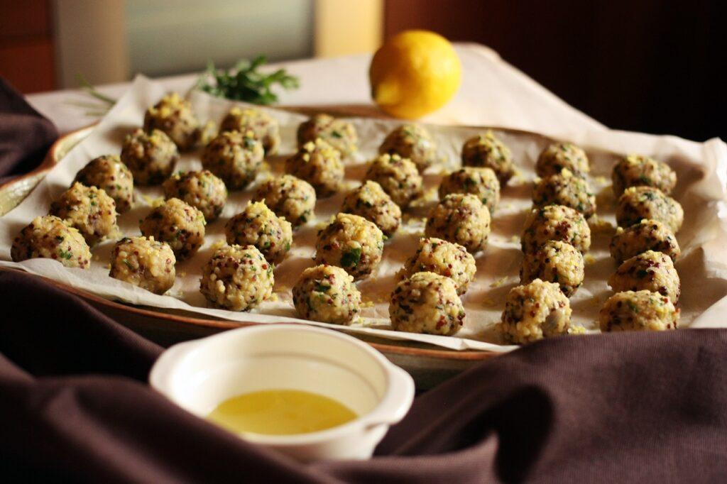 polpette di bulgur, vegetariane, le famose kofte turche